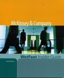 the wetfeet insider guide to mckinsey & company