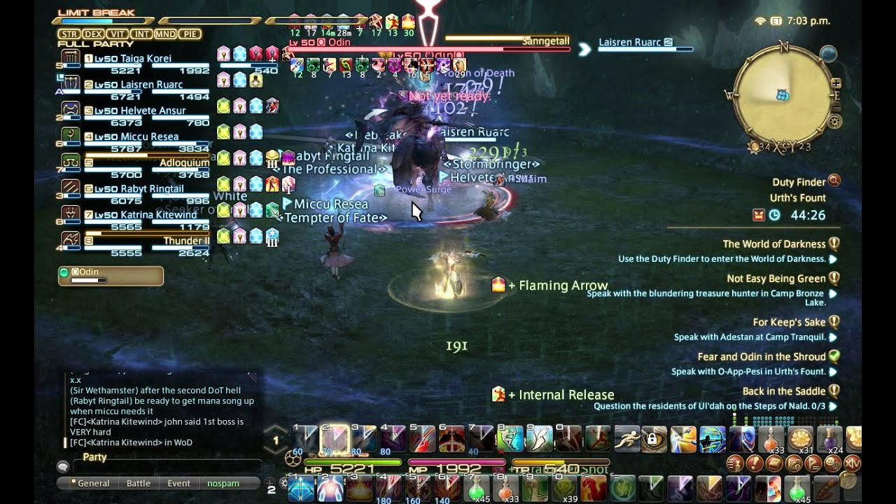 palace of the dead 150 ffxiv guide