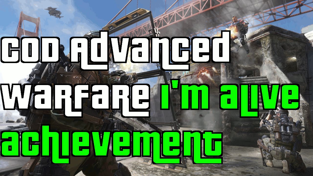 cod advanced warfare achievement guide