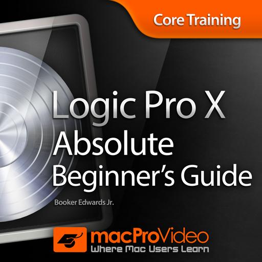 macprovideo logic pro x 100 absolute beginners guide tutorial