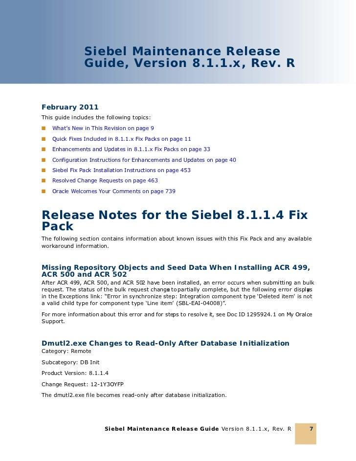 siebel 8.1 user guide