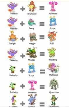 my singing monsters breeding guide t rox