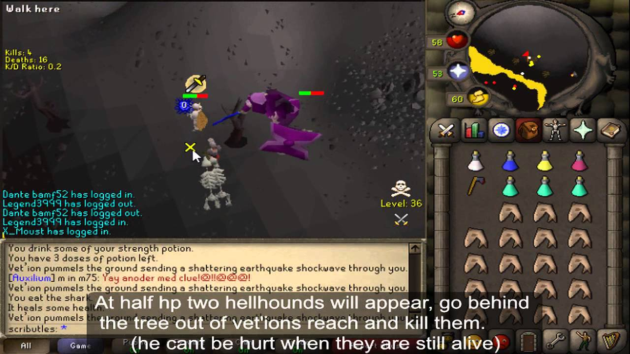 old school runescape guide melee