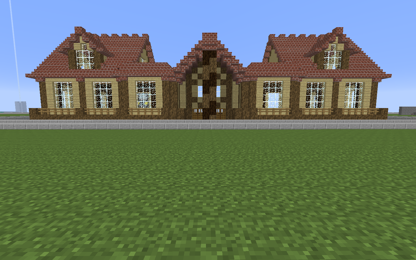 minecraft guide to build a strong house