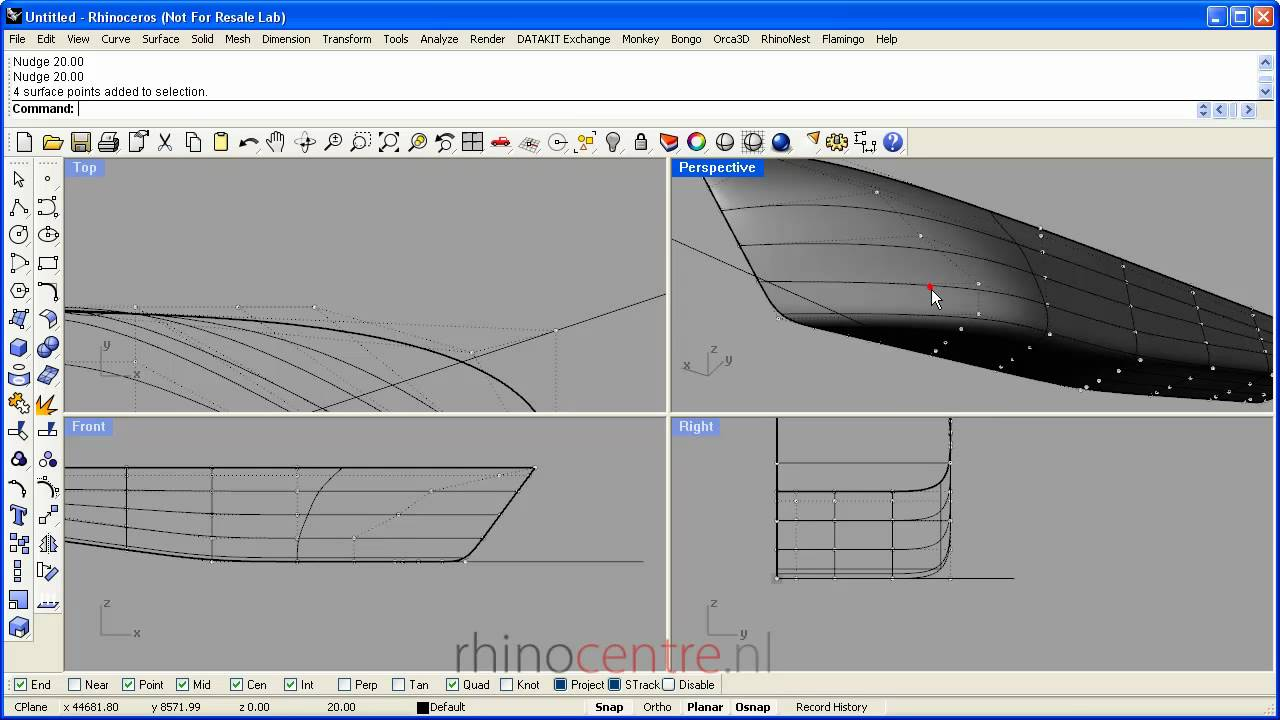 sketchup remove all guide points