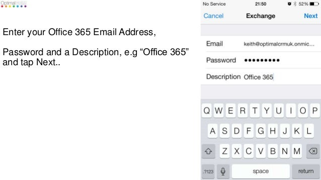 office 365 iphone configuration guide