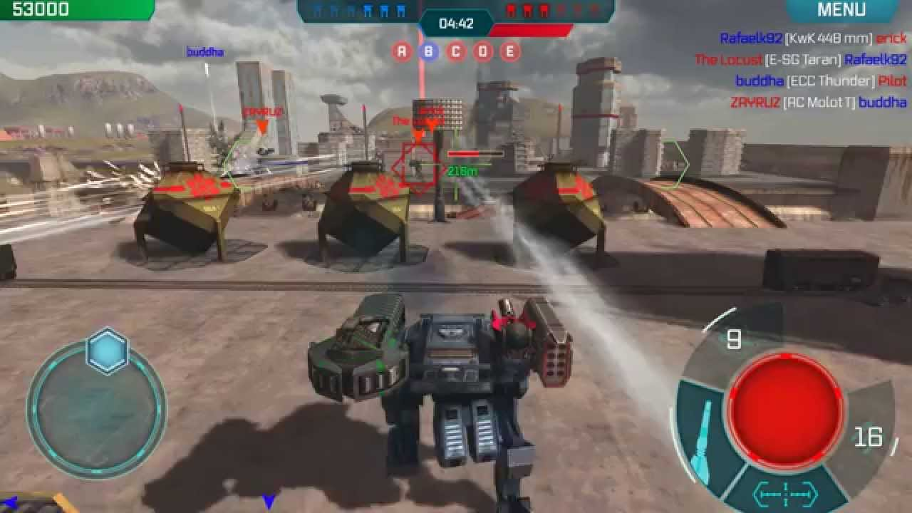 walking war robots vityaz guide