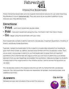 fahrenheit 451 study guide part 3