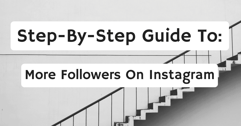 step by step guide on on gaining social media followers