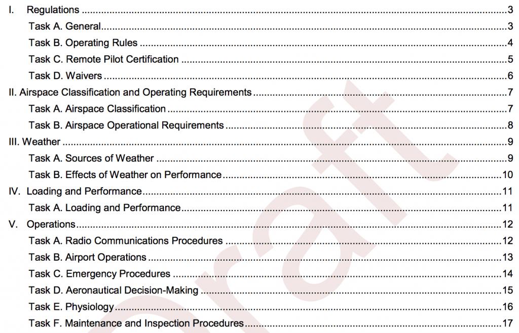 remote pilot certificate study guide