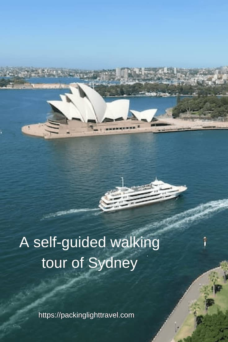 be a tour guide in sydney