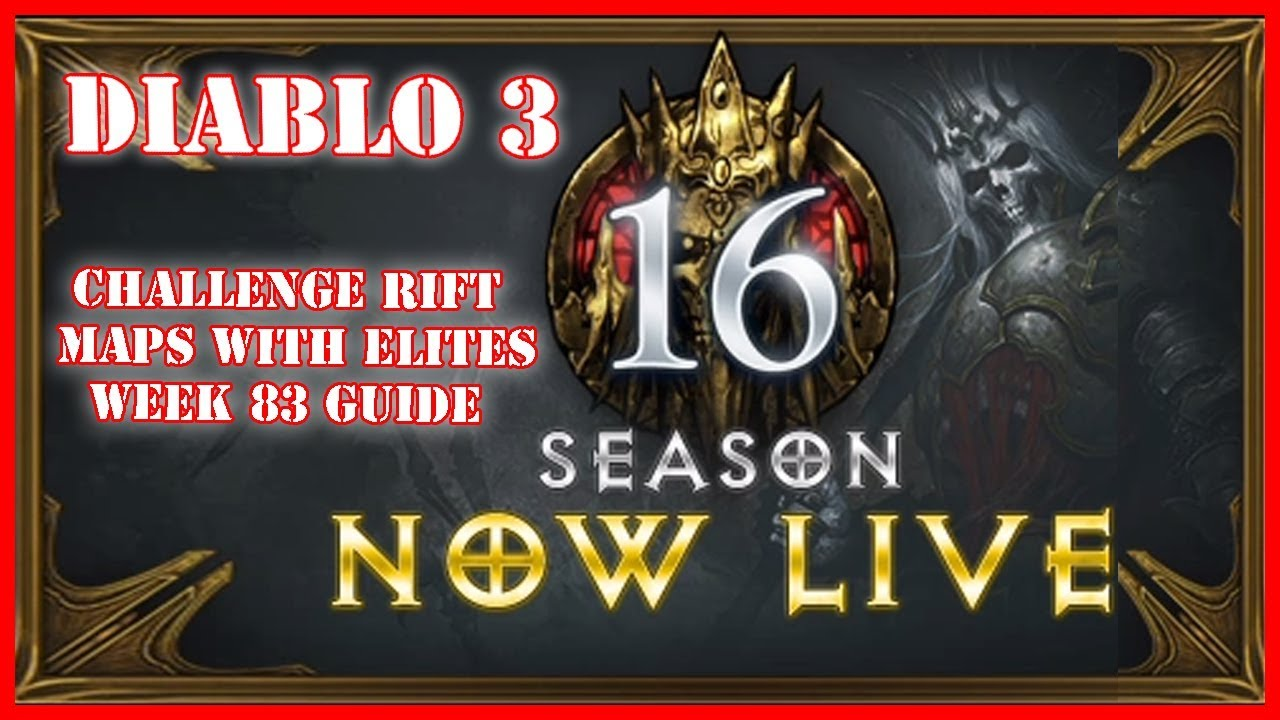 diablo 3 challenge rift guide