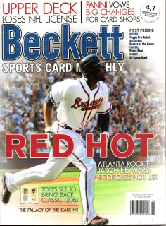 beckett baseball price guide book