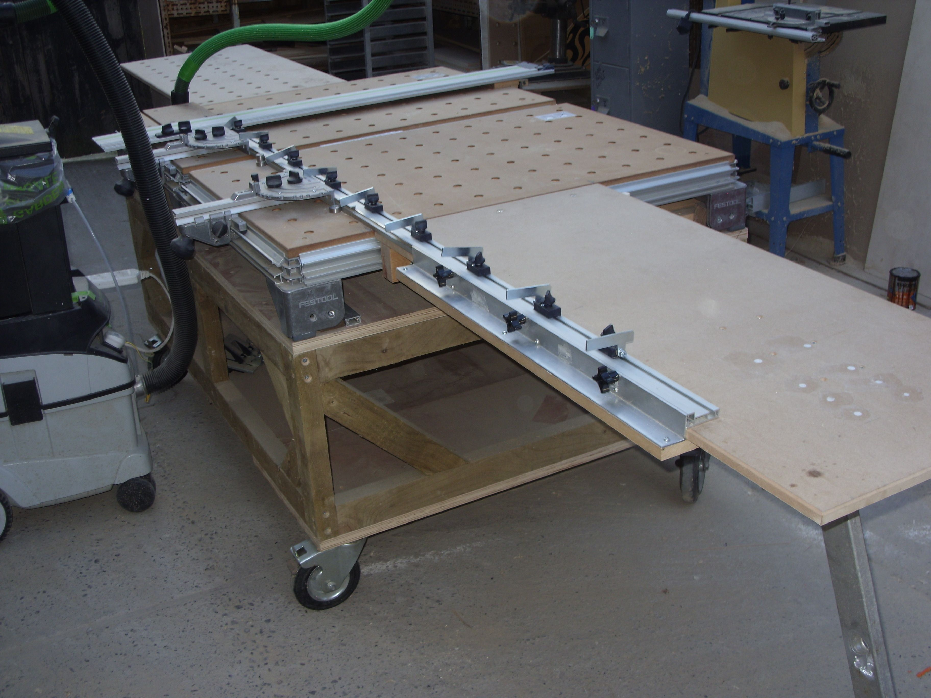 diy table saw fence guide