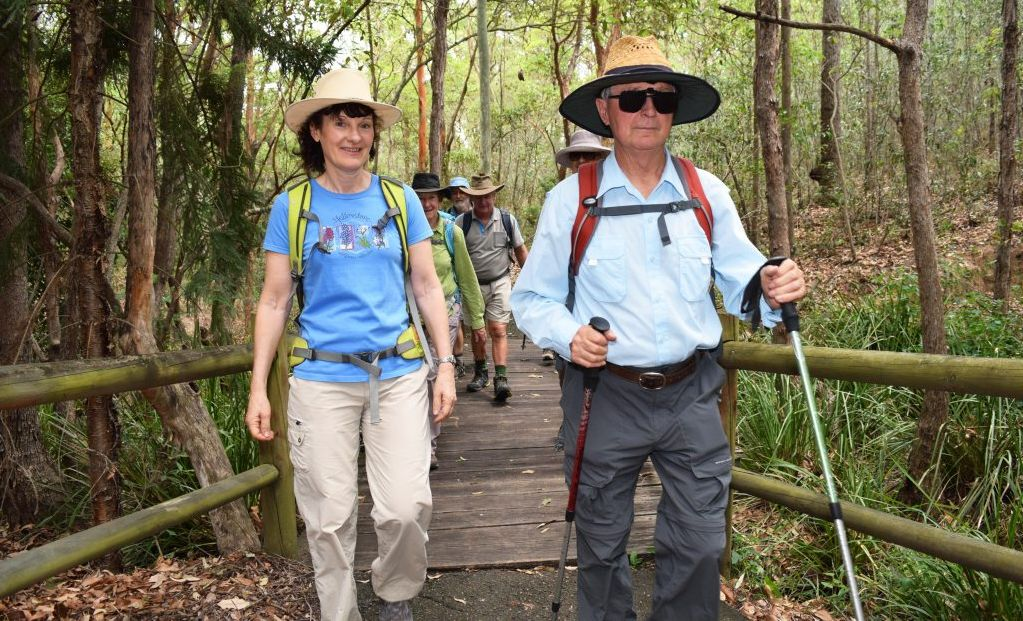bushwalkers guide to the scenic rim