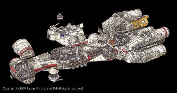 led guide for model space ships