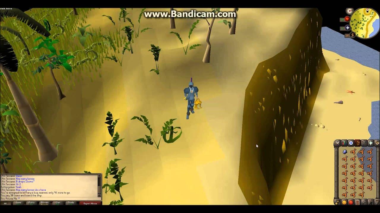 osrs harpie bug swarm slayer guide
