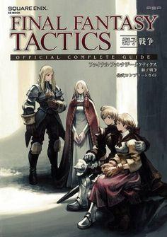 final fantasy tactics war of the lions guide book