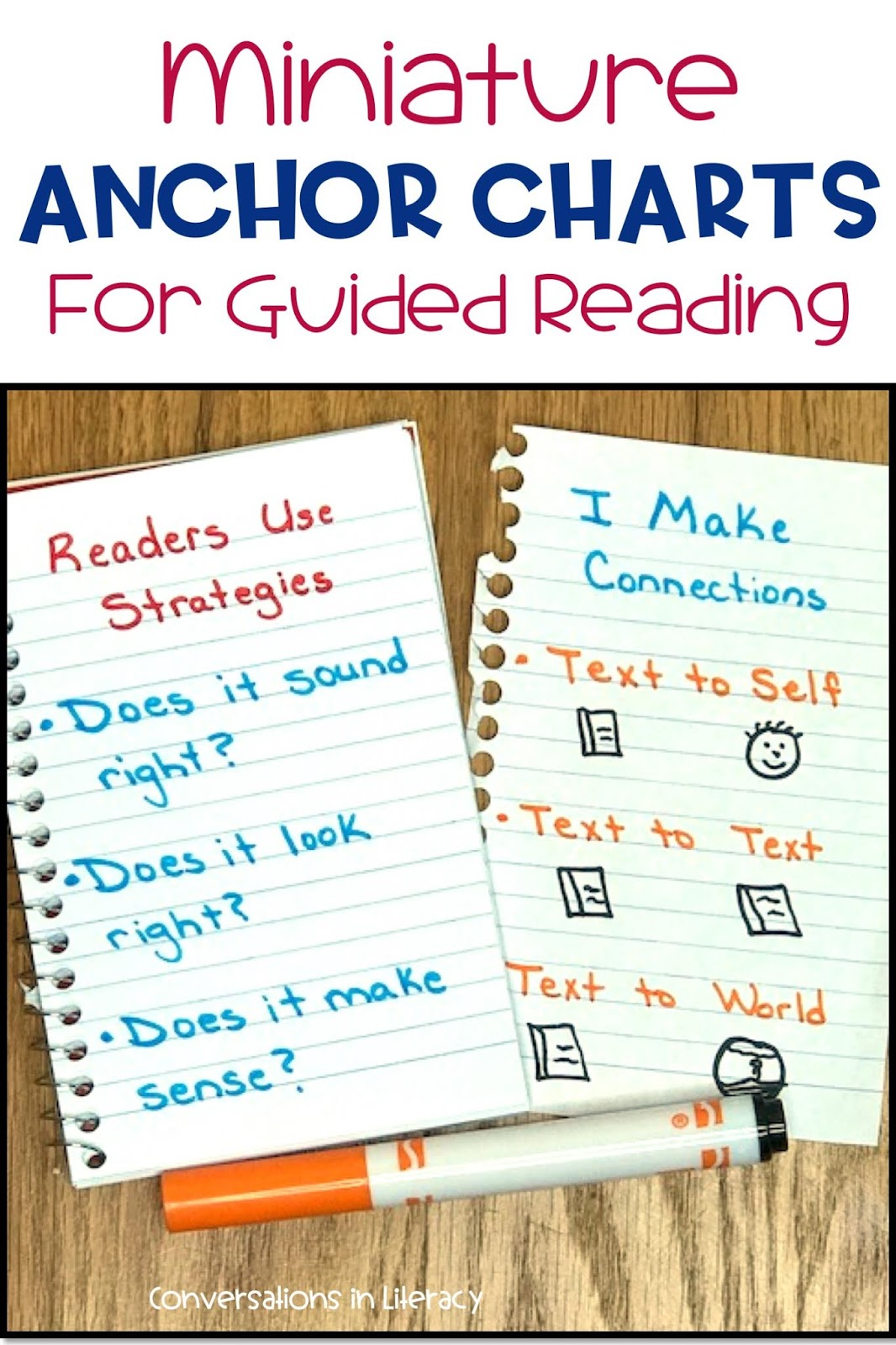 anchor charts for guided reading