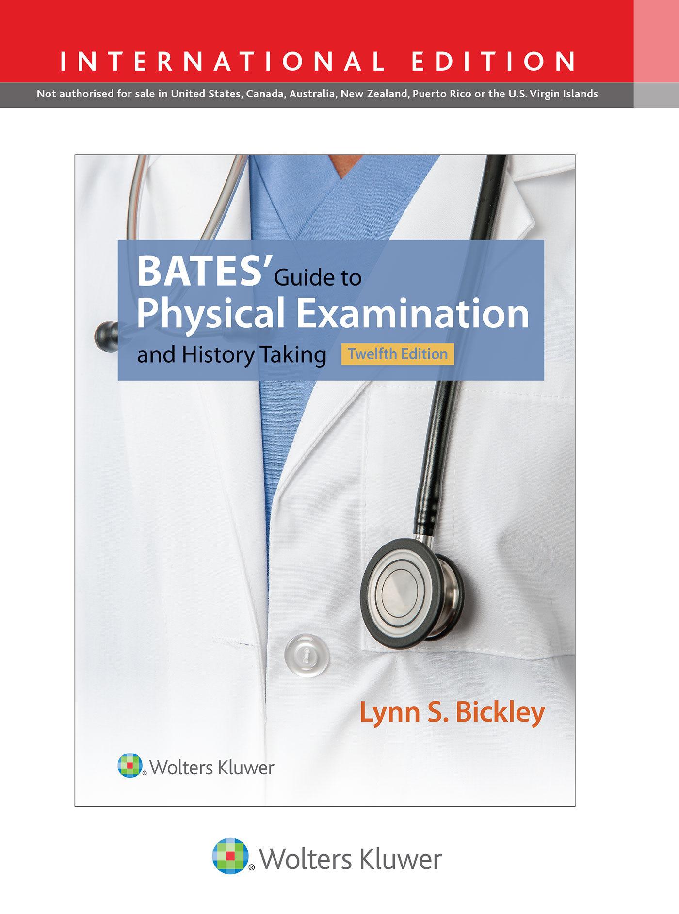 barbara bates guide to physical examination latest edition