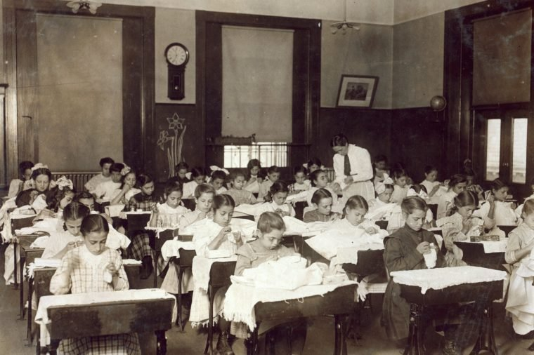 what was school like 100 years ago guided reader