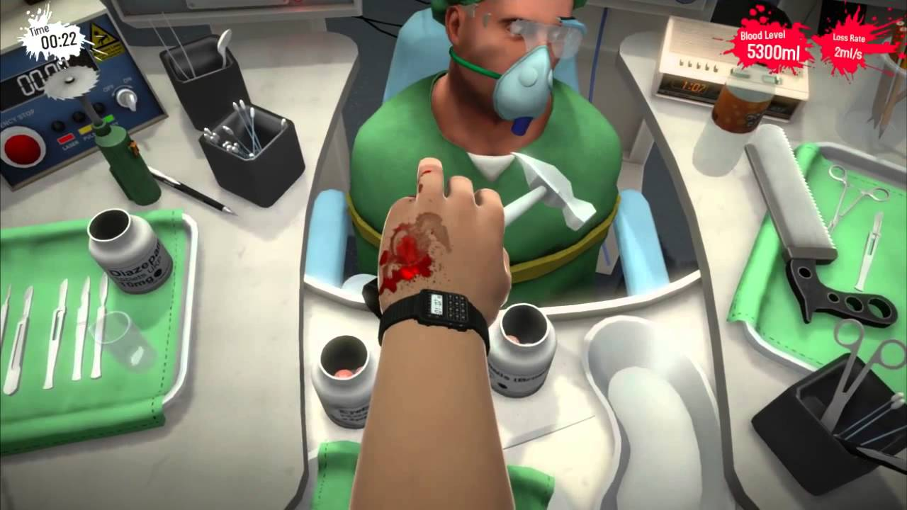 surgeon simulator touch achievement guide