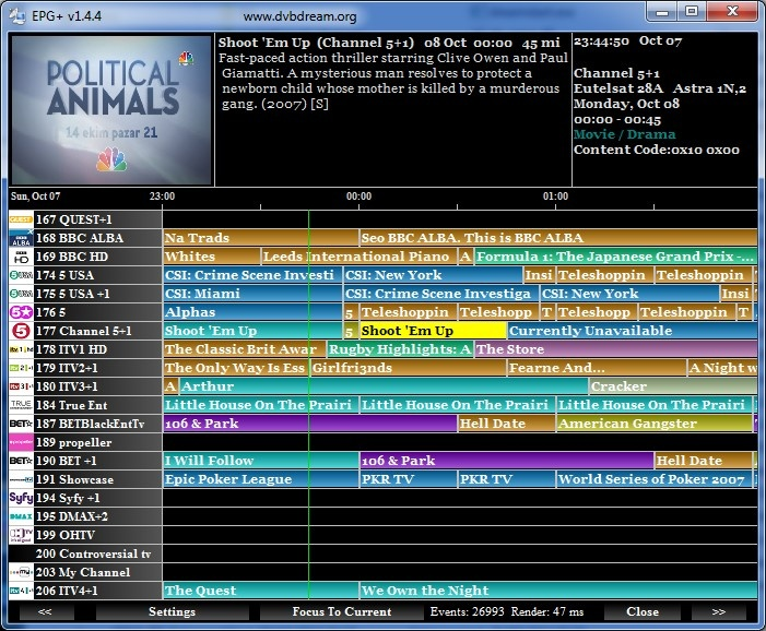 channel 7 free tv guide