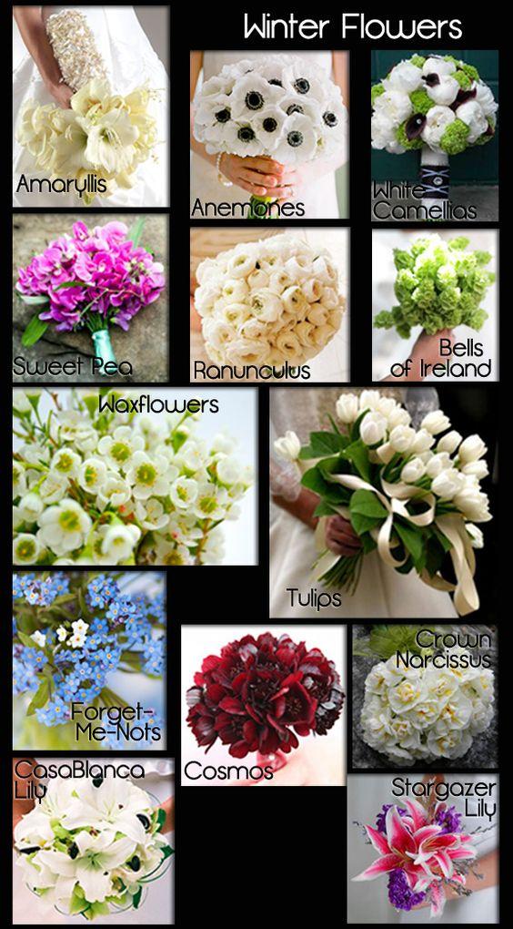 wedding flowers by seasons guide