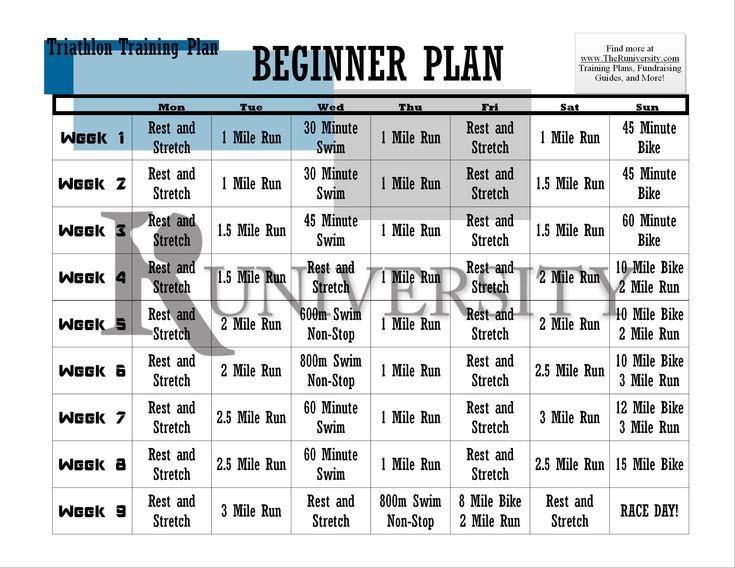 triathlon training guide for beginners free