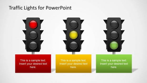 traffic light powerpoint how to guide