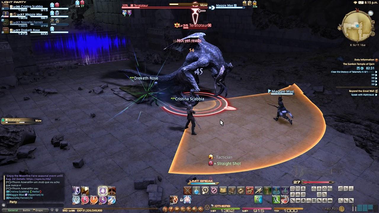 ffxiv dungeon guide sunken temple of qarn
