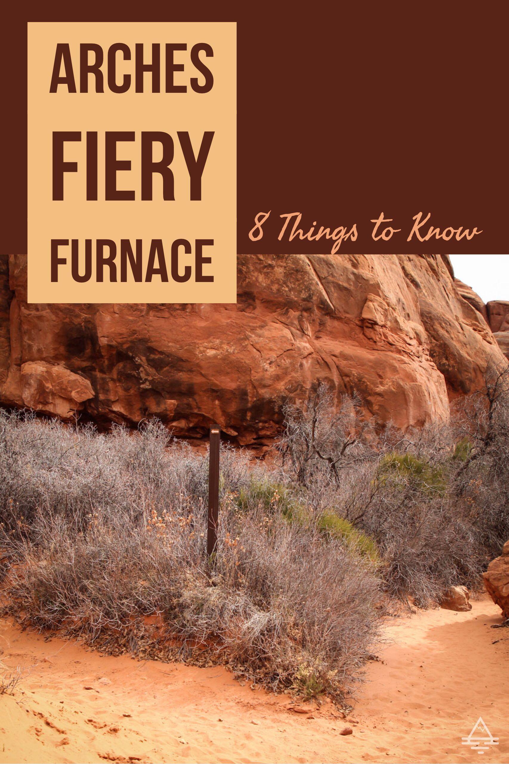 fiery furnace self guided tour