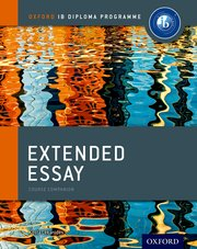 guide to extended essay book