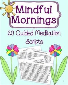 guided meditation script 4 year olds