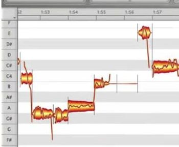 magazine with guide to melodyne