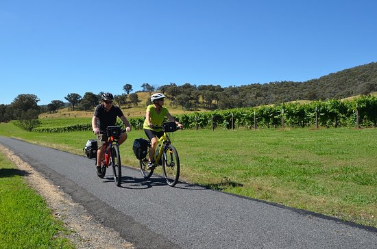 self guided cycling tours victoria