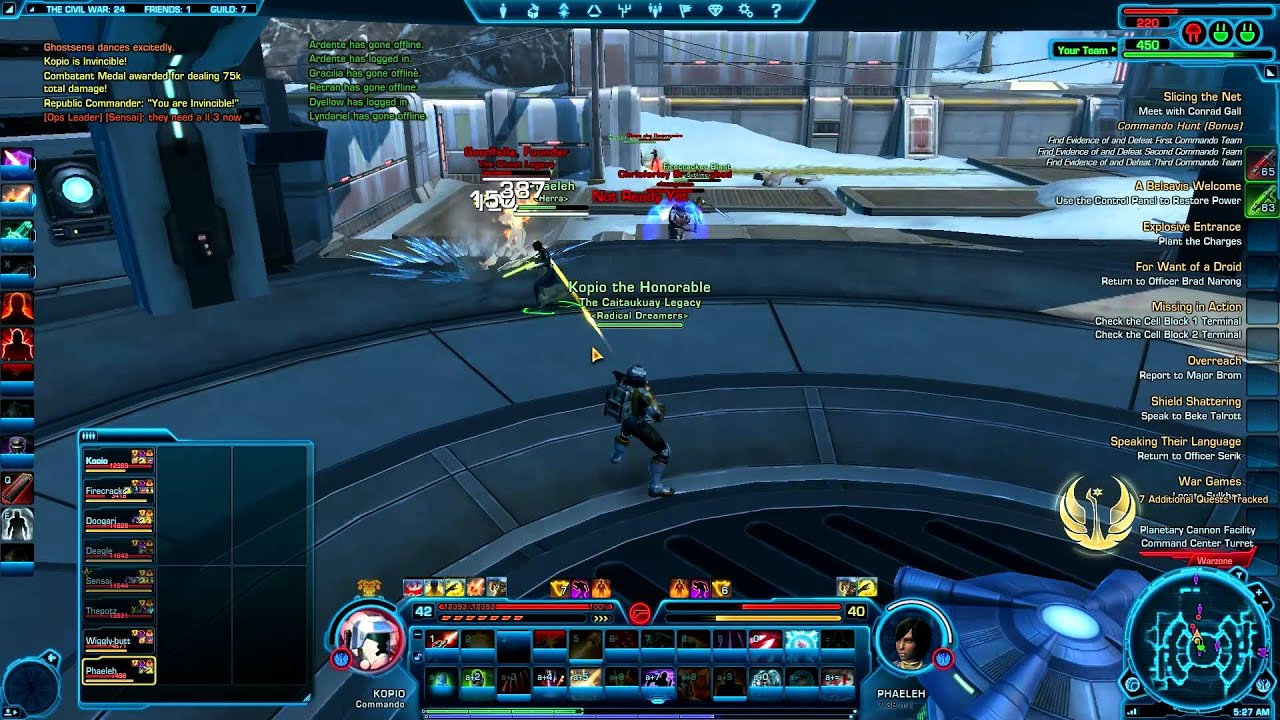 swtor commando assault specialist guide