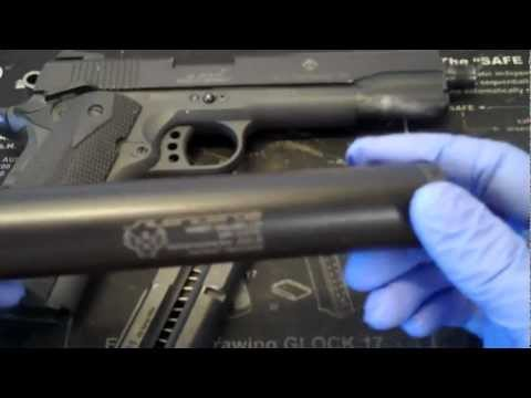 taurus pt 1911 guide rod laser