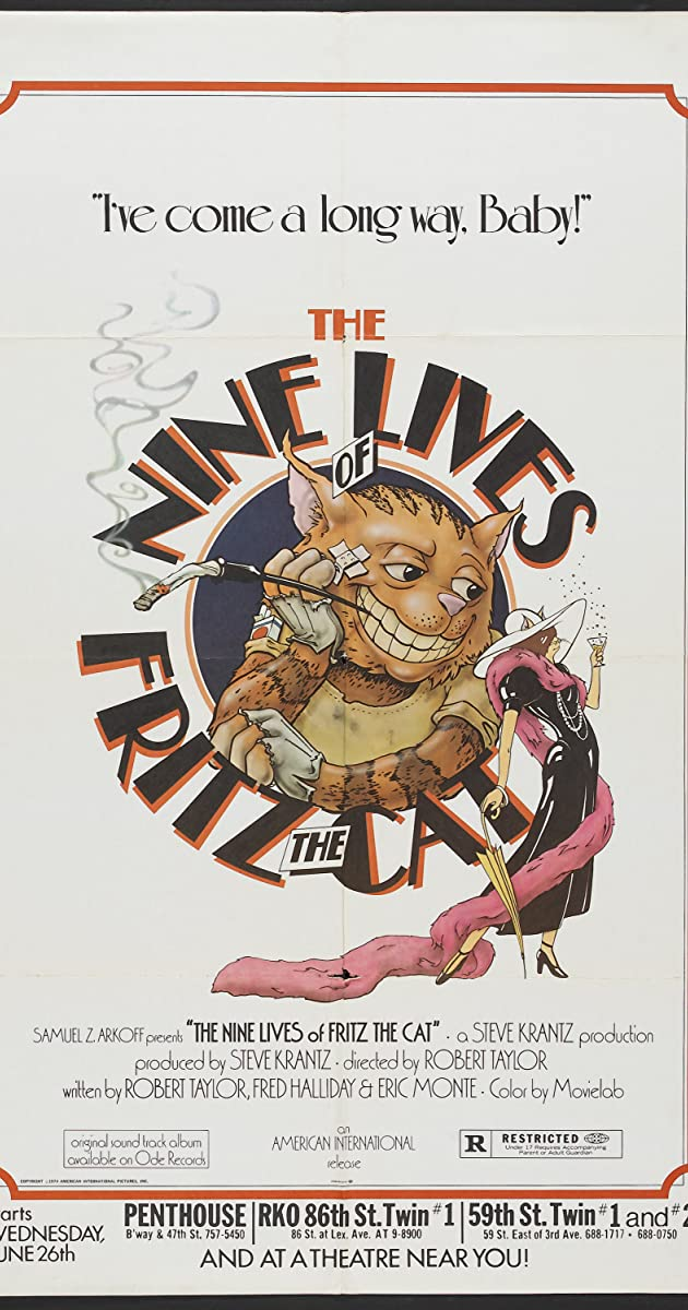the nine lives of fritz the cat parents guide