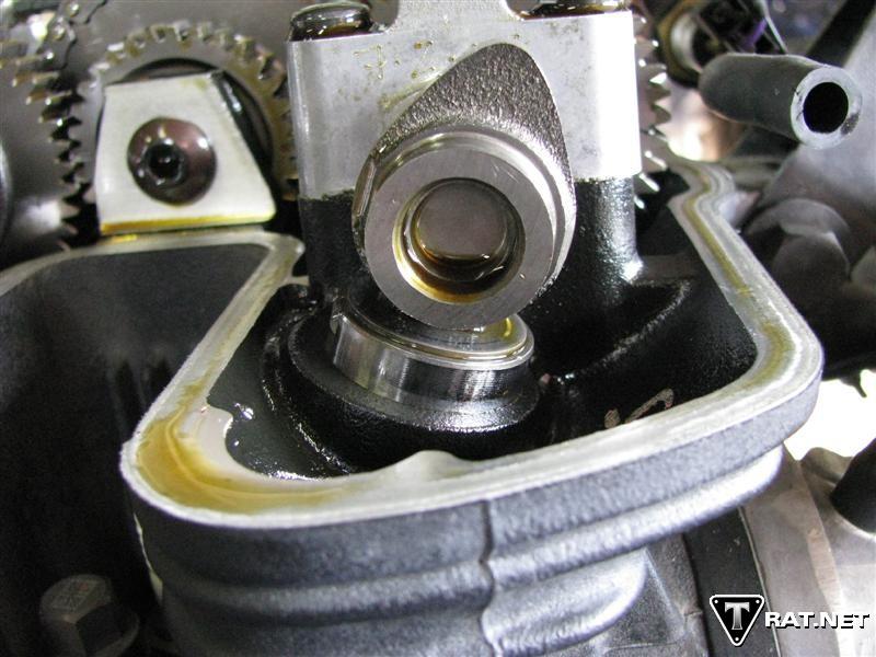 triumphrat valve guide fouled plugs site www.triumphrat.net
